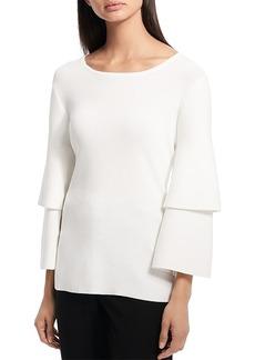 Calvin Klein Tiered Sleeve Top