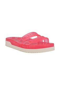 Calvin Klein Tobi Jelly Slide Sandal (Women)