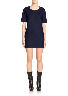 Calvin Klein Tolly Wool Jersey Shift