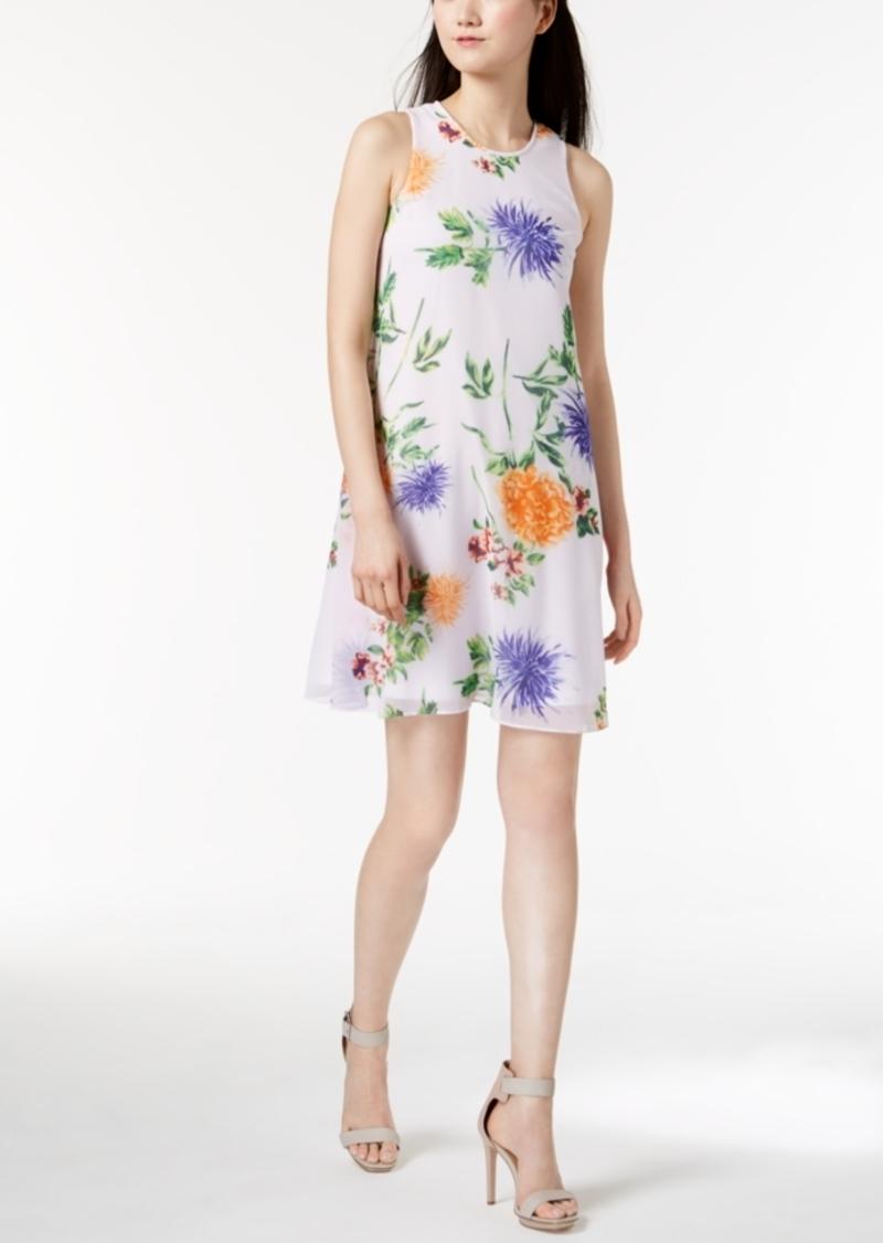 Calvin Klein Calvin Klein Trapeze Dress, Regular & Petite Sizes ...