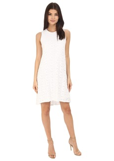 Calvin Klein Trapeze Lace Dress CD6L3U4H