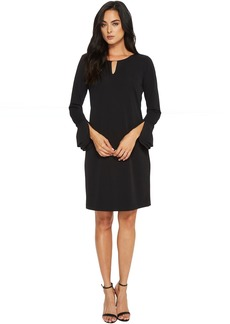Calvin Klein Triple Flare Sleeve Dress