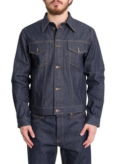 Calvin Klein Trucker Selvedge Denim Jacket