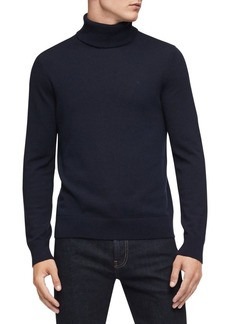 Calvin Klein Turtleneck Merino Wool-Blend Sweater