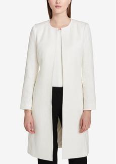 Calvin Klein Tweed Boucle Topper Jacket