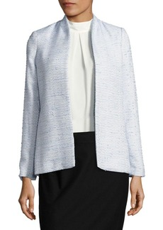 Calvin Klein Tweed Long Sleeve Jacket