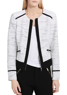 Calvin Klein Tweed Zip Jacket