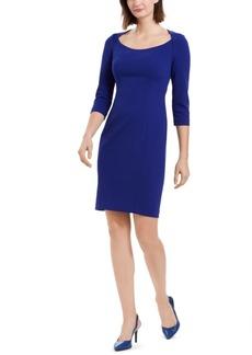 Calvin Klein U-Neck Sheath Dress