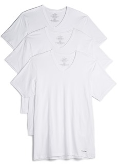 Calvin Klein Underwear 3 Pack Cotton Classic V Neck Tees