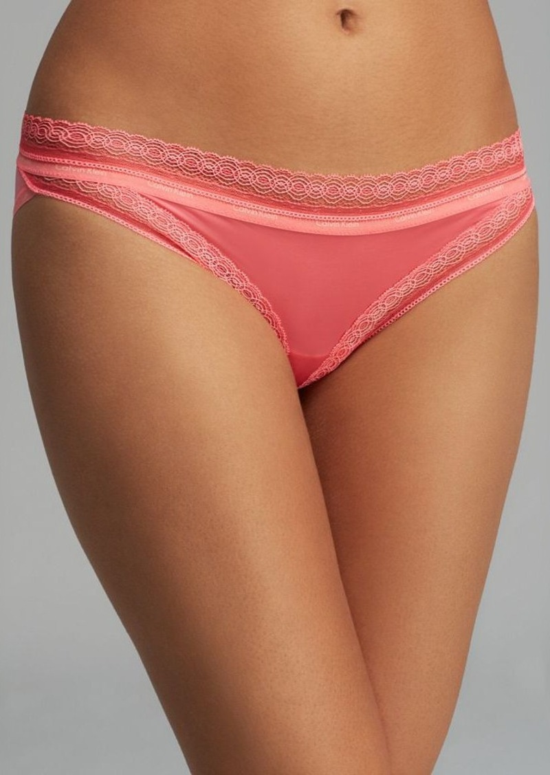 Calvin Klein Underwear Bikini - Perfectly Fit Sexy Signature with Lace #F3266