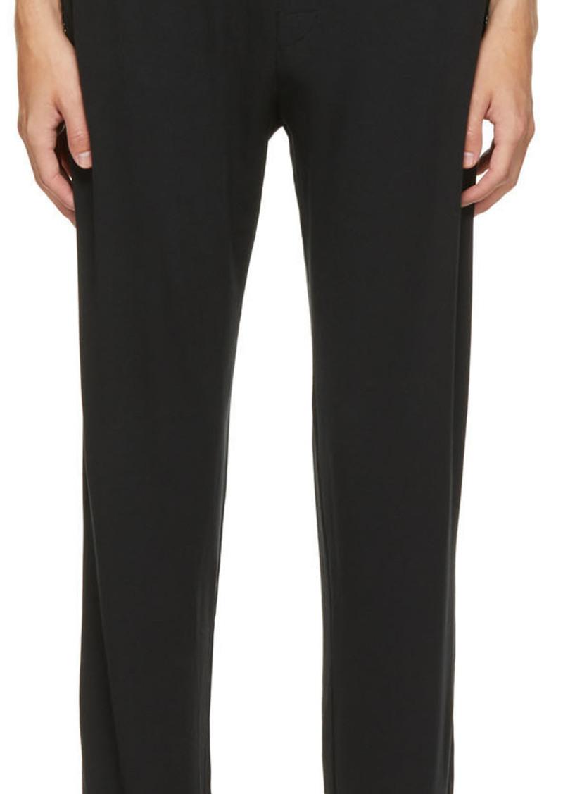 Calvin Klein Underwear Black Modal Ultra-Soft Lounge Pants