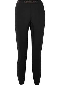 Calvin Klein Body cotton-blend jersey track pants