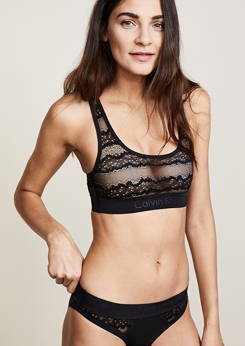b45051e86977d Calvin Klein Calvin Klein Underwear CK Black Electric Unlined ...