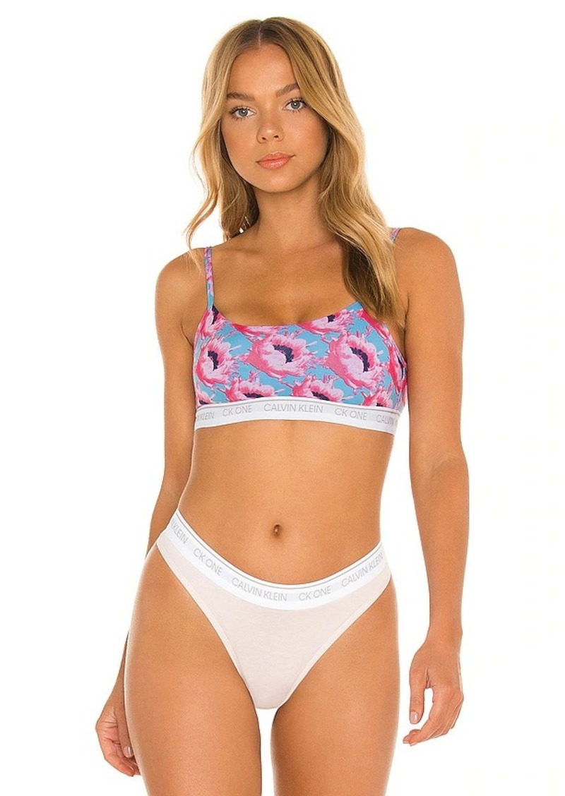 Calvin Klein Underwear CK One Cotton Unlined Bralette