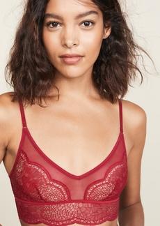 Calvin Klein Underwear Crackled Lace Unlined Bralette