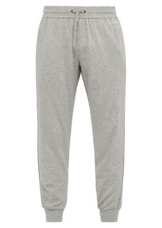 Calvin Klein Underwear Drawstring cotton-blend lounge trousers