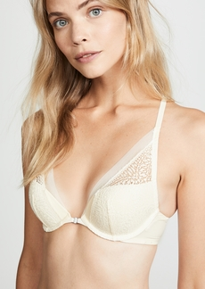 Calvin Klein Underwear Endless Plunge Push Up Bra