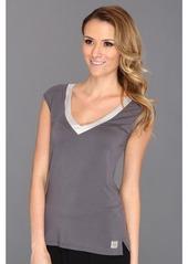 Calvin Klein Underwear Essentials w/ Satin Trim Cap Sleeve PJ Top