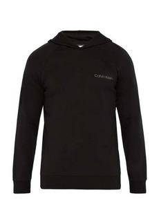 Calvin Klein Underwear Logo cotton-blend hooded sweatshirt