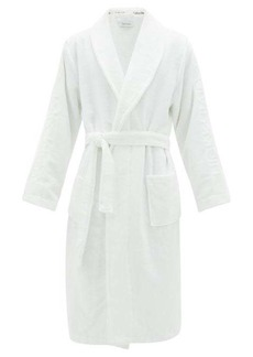 Calvin Klein Underwear Logo-jacquard cotton-terry bathrobe