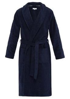 Calvin Klein Underwear Logo-jacquard cotton-terry bathrobe