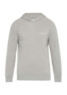 Calvin Klein Underwear Logo-print cotton hooded sweatshirt