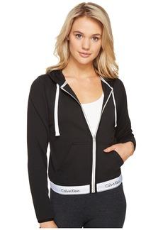 Calvin Klein Underwear Modern Cotton Line Extension Top Full Zip Hoodie