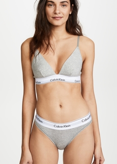 Calvin Klein Underwear Modern Cotton Triangle Bra
