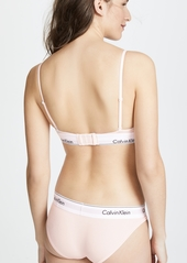 Calvin Klein Underwear Modern Cotton Triangle Unlined Bra