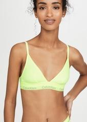 Calvin Klein Underwear Modern Cotton Unlined Triangle Bralette