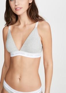 Calvin Klein Underwear One Cotton Lightly Lined Triangle Bralette