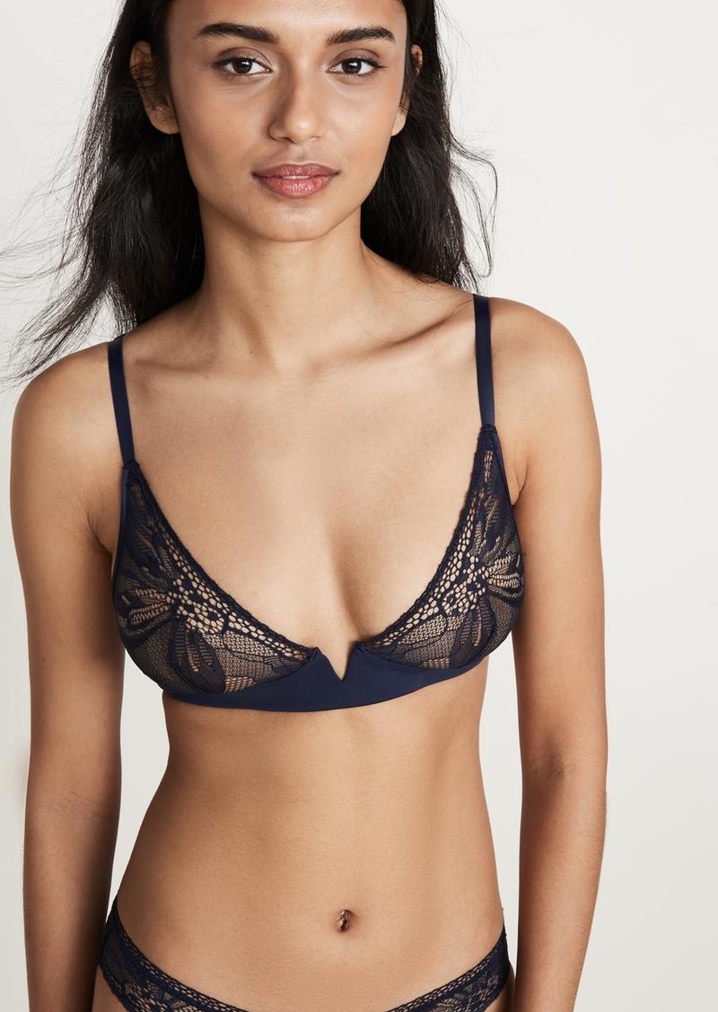Calvin Klein Underwear Petal Lace Plunge Bra