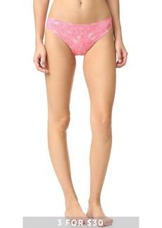 Calvin Klein Underwear Printed Invisibles Thong