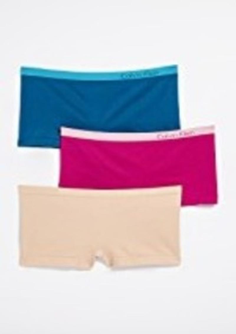 51ab8f3cfdc5 Calvin Klein Calvin Klein Underwear Pure Seamless Boy Shorts 3 Pack ...