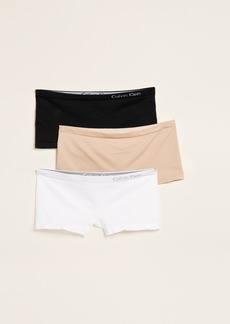 Calvin Klein Underwear Pure Seamless Boy Shorts 3 Pack