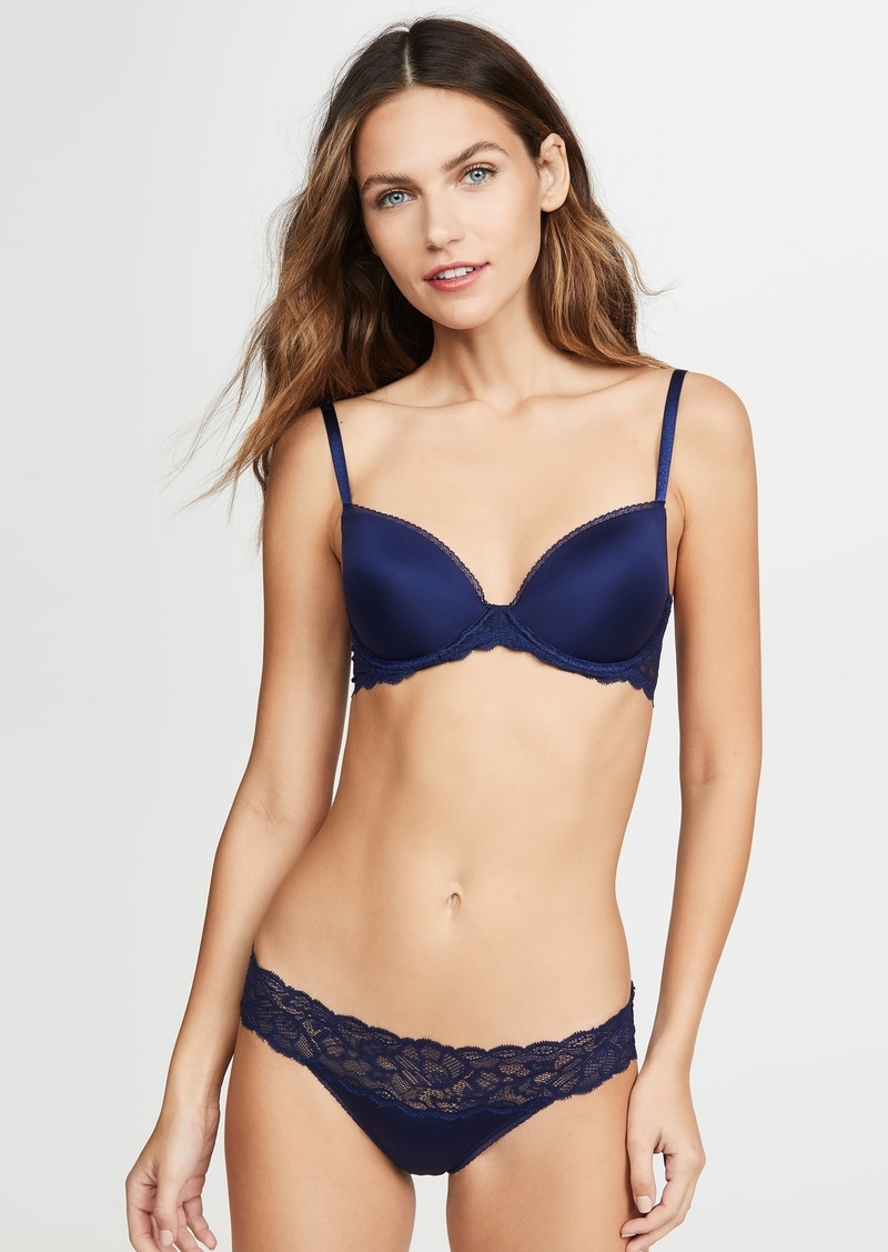 Calvin Klein Underwear Seductive Comfort Push Up Bra with Lace
