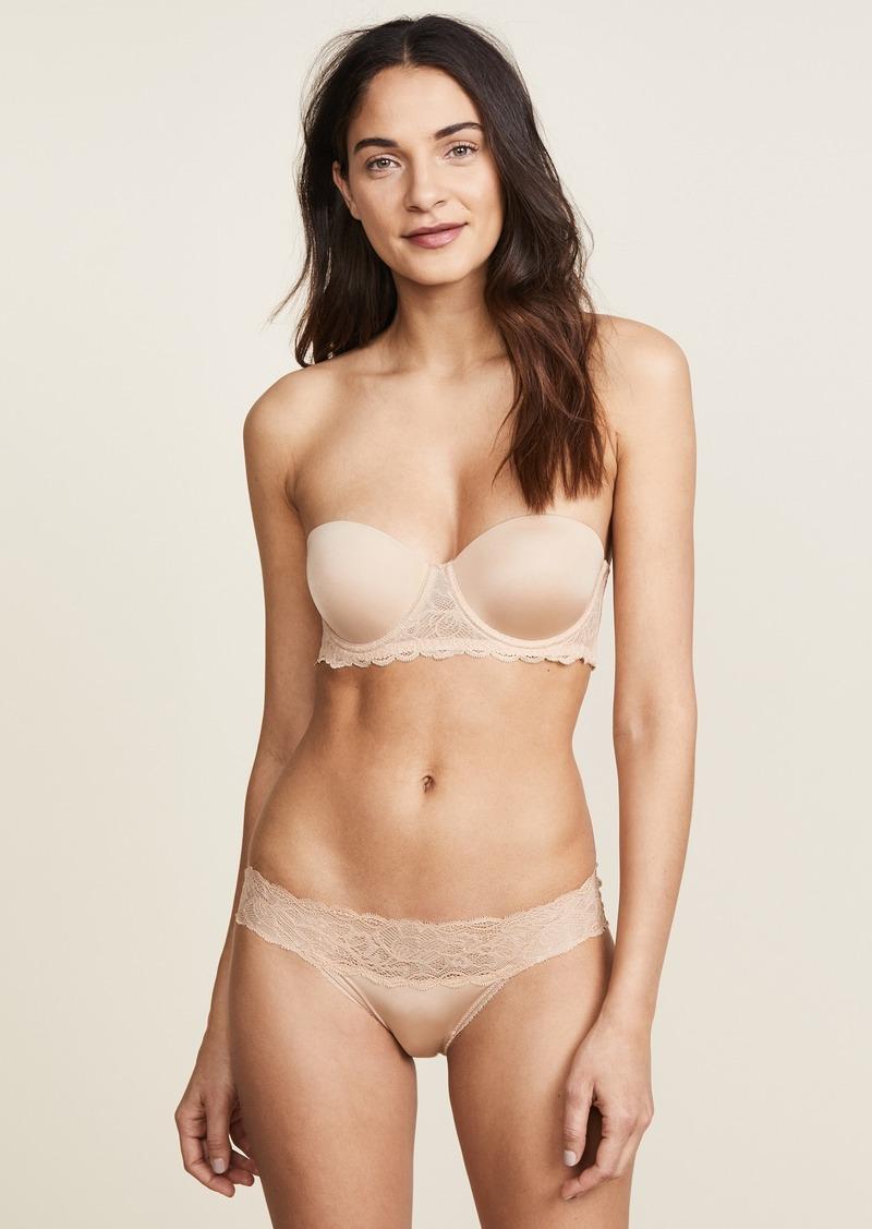 Calvin Klein Underwear Seductive Comfort Strapless Lift Multiway