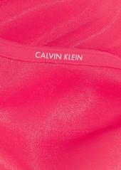 11aaa2bfd2 ... Calvin Klein Underwear Sheer Marquisette stretch-mesh underwired bra