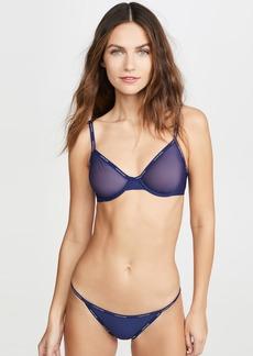 Calvin Klein Underwear Sheer Marquisette Unlined Demi Bra