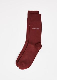 Calvin Klein Underwear Solid Crew Socks