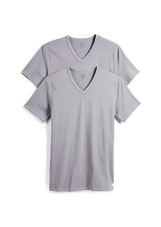 Calvin Klein Underwear Stretch V Neck T-Shirts 2 Pack