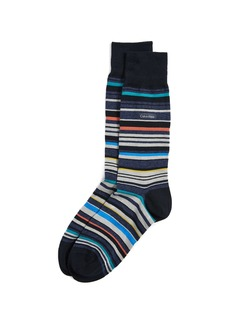 Calvin Klein Underwear Stripe Crew Socks