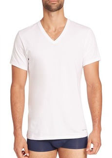 Calvin Klein 3-Pack Classic-Fit Cotton V-Neck Tees