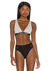 Calvin Klein Underwear Unlined Triangle Bra