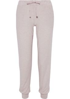 Calvin Klein Underwear Woman Mélange Stretch-modal Pajama Pants Pastel Pink