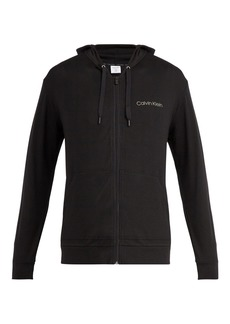 Calvin Klein Underwear Zip-through hooded sweatshirt