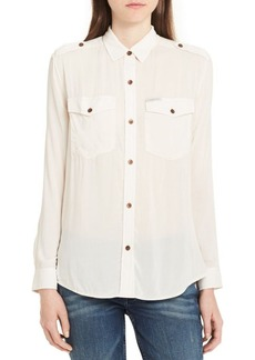 Calvin Klein Jeans Utility Pocket Blouse