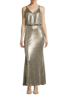 Calvin Klein V-Neck Blouson Dress