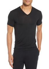 Calvin Klein Ultrasoft Stretch Modal V-Neck T-Shirt