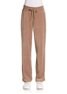 Calvin Klein Velour Track Pants